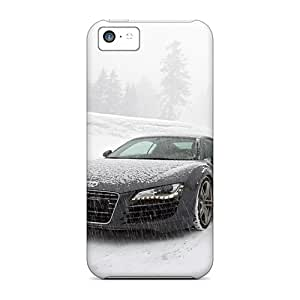 Shockproof Hard Phone Cover For Iphone 5c With Custom HD Audi R8 Skin JonBradica