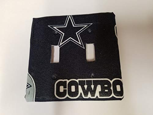 Dallas Cowboys Double Light Switch Cover