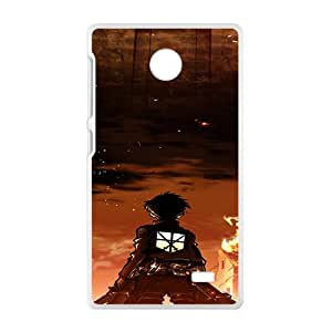 New Style Custom Picture Attack on Titan Cell Phone Case for Nokia Lumia X