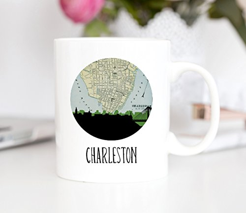Charleston Skyline Coffee Mug