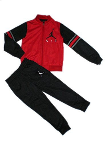 Nike Jordan Jumpman Toddler Jacket Tracksuit Pants Outfit Set, Size 4T (Jordan Toddler Outfit)