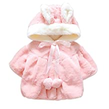 Aivtalk Infant Baby Long Sleeve Cotton-padded Casual Warm Coat Outerwear Clothes
