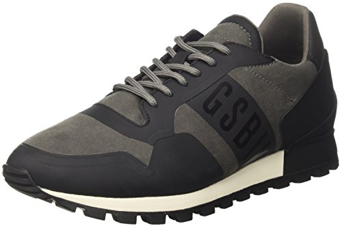 Bikkembergs Fend-ER 944, Men Trainers Gray (Grey 400)