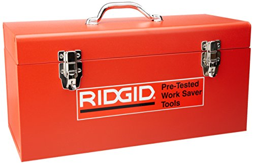 Ridgid 606 Caja para Herramienta Modelo, rojo