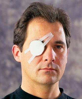 Unitized First Aid Kit Refills - Eye Pads w/ Adhesive (Unitized Kit Refill)
