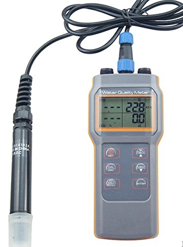 Water Quality Tester AZ86031 5 in 1 PH Conductivity Dissolved Oxygen Salinity Temperature Meter Dissolved Oxygen Instrument