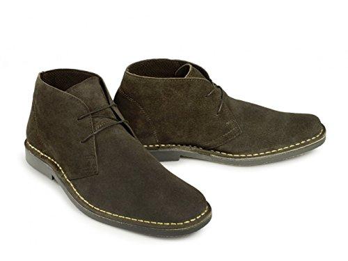 Roamer Mens M420DBS Desert Boots Dark Brown