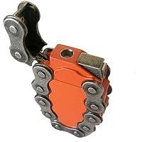 Hip Orange Chain Link Refillable Lighter