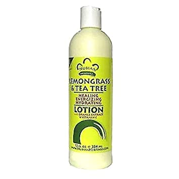 Nubian Heritage Lotion, Lemongrass and Tea Tree, 13 Fluid Ounce