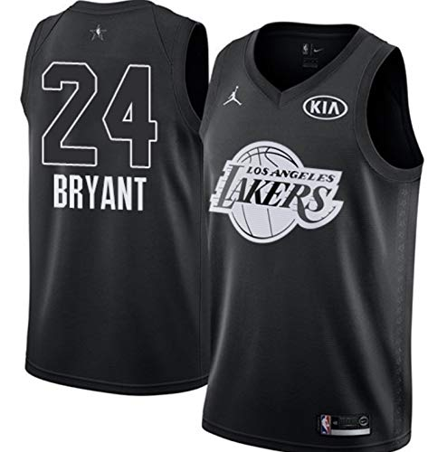 NIKE Jordan Youth 2018 NBA All-Star Game Kobe Bryant Black Dri-FIT Swingman Jersey (Black, Large)