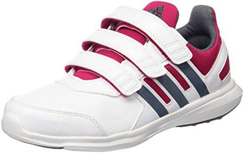 adidas Boys' Trainers Black White (Ftwbla / Onix / Rosfue)