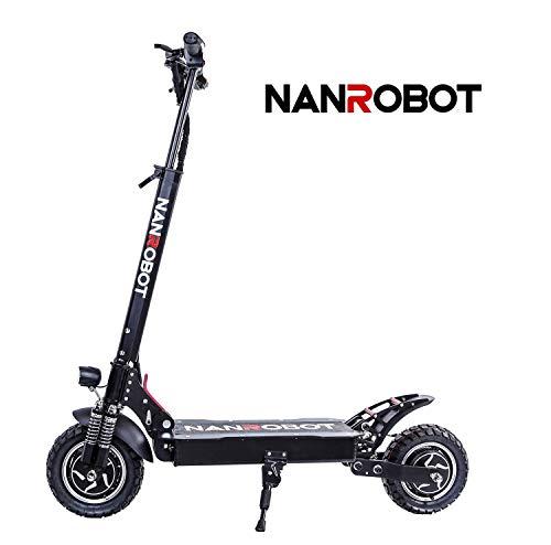 Amazon.com: NANROBOT D4+ Patinete eléctrico de 10 pulgadas ...