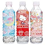 [Sanrio package] Bourbon-ionized water PET500mlX24 pieces [X2 case: ON total 48]