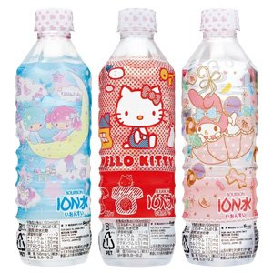 [Sanrio package] Bourbon-ionized water PET500mlX24 pieces [X2 case: ON total 48] by Bourbon