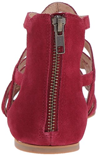 Dress Split Como Women's Red Surrey Suede Corso Sandal vA8SH71nn