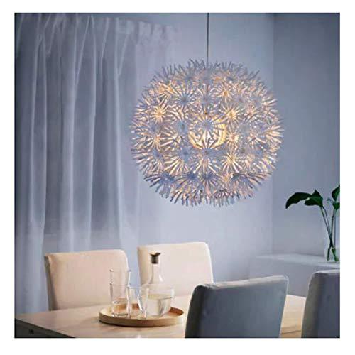Ikea Maskros Pendent Light Paper Lamp Diameter 55 Cm Dandelion Effect  White: Amazon.co.uk: Lighting