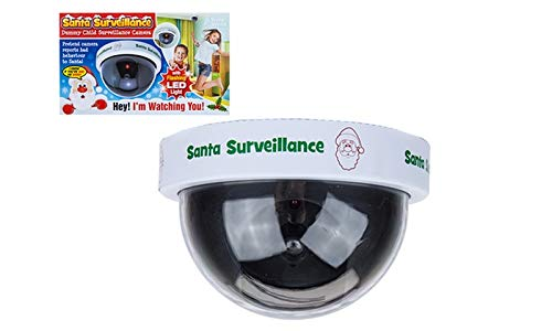KIDS Santas Surveillance Camera with LEDs - Remember Santa Sees All, Dummy Childrens Security Camera with Flasing Light. by KIDS