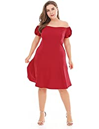 f3e0862dd0d61 Amazon.com: 3X - Dresses / Maternity: Clothing, Shoes & Jewelry