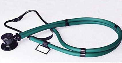 NO LOGO LMY-TINGZHENQI, Forma Cardiología Littmann Profesionales médicos Enfermeras Estetoscopio médico de la presión Arterial de Doble Cabeza Estetoscopio Estetoscopio (Color : Rose Red)