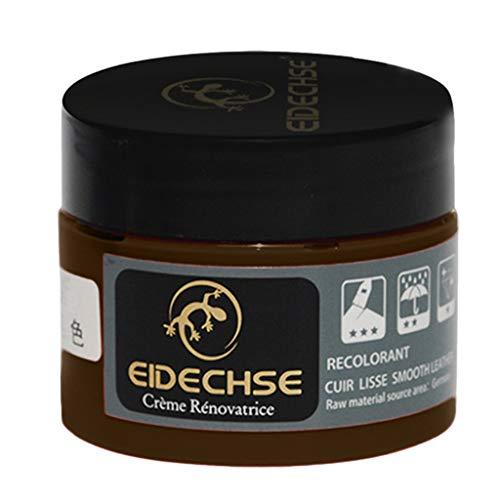 (CCFAMILY Leather Repair Cream Filler Compound for Leather Restoration Cracks Burns Holes)