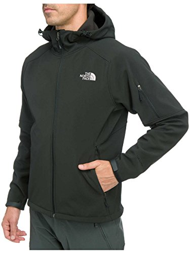 The North Face Men's Apex Android Hooded Softshell Jacket TNF Black MD