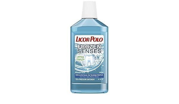 Licor del Polo Enjuague bucal Frozen Senses - 1 ud de 500 ml ...