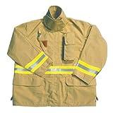 Fire Dex - FS1J057S - Turnout Coat, Tan, S, Nomex
