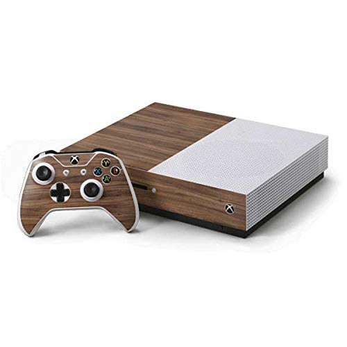 - Skinit Wood Xbox One S Console and Controller Bundle Skin - Natural Walnut Wood Design - Ultra Thin, Lightweight Vinyl Decal Protection