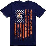 Vibeink Houston Crush City Flag H-Town T-Shirt