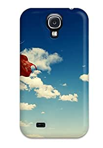 Rachel B Hester Scratch-free Phone Case For Galaxy S4- Retail Packaging - Supergirl Flying In The Sky