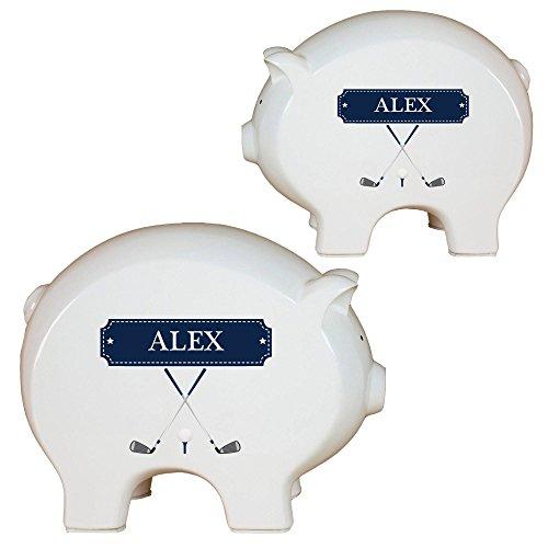 Golf Ball Bank - Personalized Golf Piggy Bank
