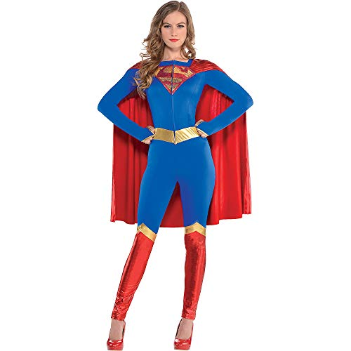 SUIT YOURSELF Supergirl Jumpsuit Halloween Costume for