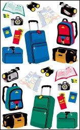 Gt Luggage Etc - Mrs Grossmans Sticker Strips
