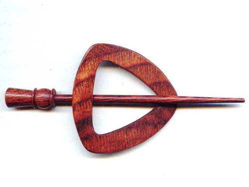 Knitter-s Pride Knitter's Pride Shawl Pins, 21 - Electra / Symfonie Wood Rose