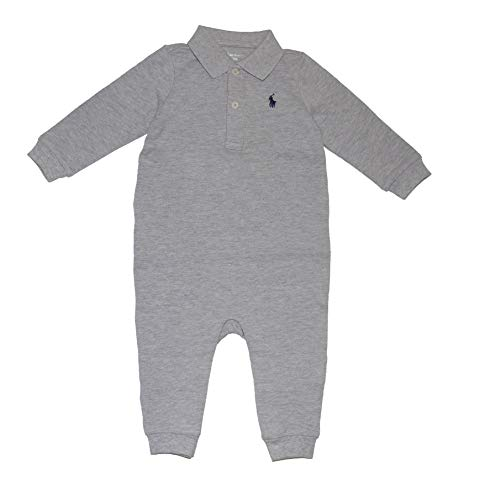 RALPH LAUREN Polo Baby Boys Cotton Mesh Coveralls (9 Months)