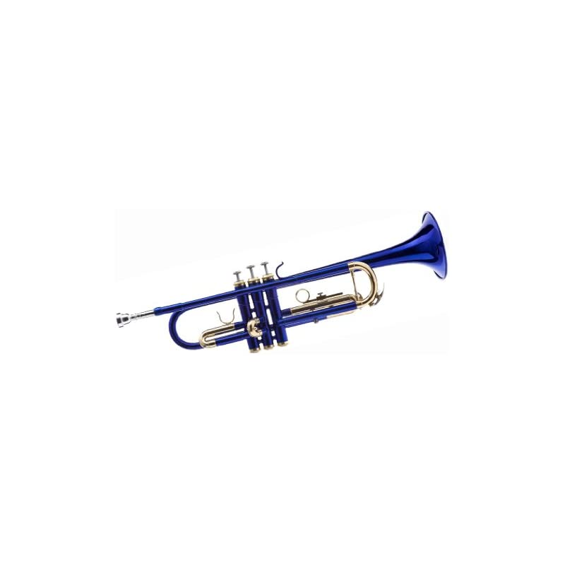 Hawk WD-T314-BL Bb Trumpet with Case and