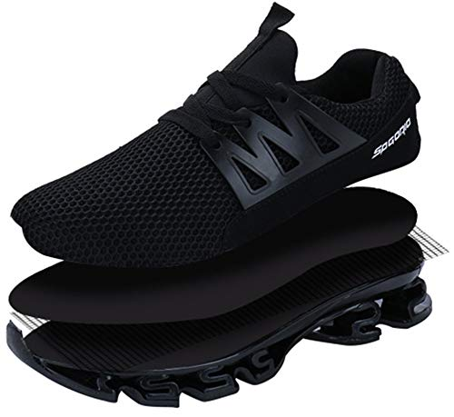 82db99f2db2f53 Men s Trainers Running Shoes Blade Casual Sports Athletic Fashion Adult  Slip On Tennis Trail Running Sneakers Lace Up  Amazon.co.uk  Shoes   Bags