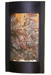 Adagio SWA1512 Serene Waters - Green Featherstone Wall Fountain