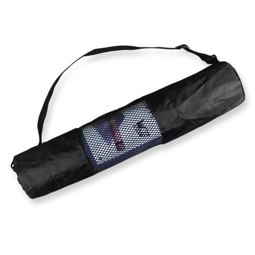 Yoga Mat Carrier Bag Nylon Mesh Centre Adjustable Strap Washable Exercise Mat We R Sports®