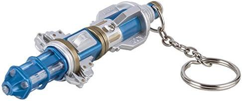 Doctor Who - Llavero linterna de destornillador sónico, plástico, color azul