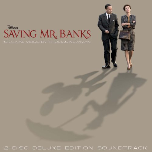Saving Mr. Banks Soundtrack (Deluxe) by Thomas Newman [Music CD]