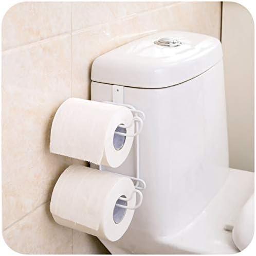 浴室の貯蔵のための鋼鉄トイレットペーパーのホールダー、タンクトイレットペーパーオーガナイザー、トイレットペーパーのホールダー