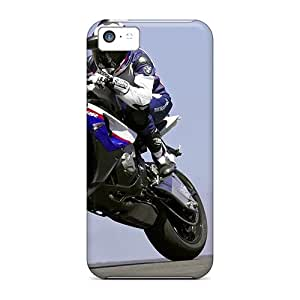 Anti-Scratch Cell-phone Hard Covers For Apple Iphone 5c (BKy20840gwvK) Customized Lifelike Bmw S1000rr Pictures