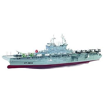 efaso 2,4 GHz RC Boot HT-3833 1:350 Amphibisches Angriffsschiff WASP-Klasse