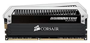 Corsair Dominator Platinum 8GB (2x4GB)  DDR3 1600 MHz (PC3 12800) Desktop Memory