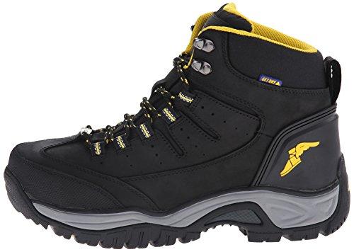 6f06630d156 Goodyear Men's Bristol SW Waterproof Steel Toe Work Boot, Black, 11 ...