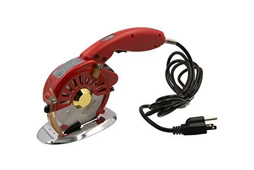 Hercules HRK-100 3-Speed Electric Rotary Cloth, Leather & Multi-Layer Fabric Cutter - Round Knife Cutting Machine - 4-Inch Round Blade (3-Speed Octagonal Cutter) by Hercules