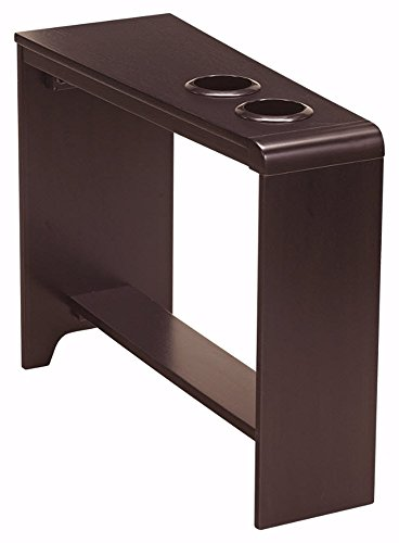 Ashley Furniture Signature Design - Carlyle Chairside End Table - Rectangular with 2 USB Ports - Contemporary - Almost (Contemporary Country End Table)