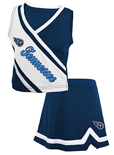 Tennessee Titans NFL Toddler Girls Cheerleader 2 Piece Set ()