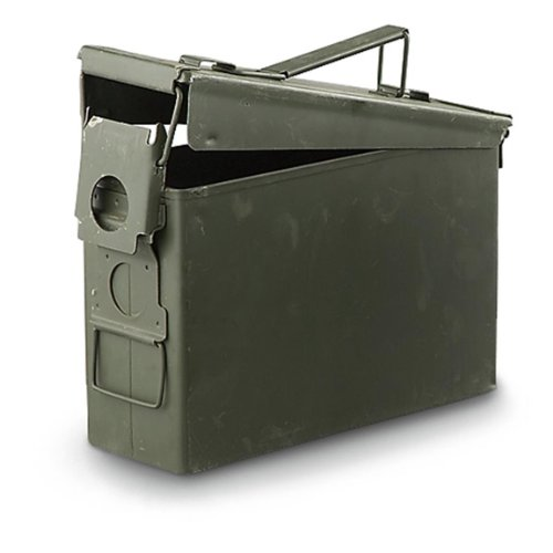 Military Outdoor Clothing Previously Issued U.S. G.I. 30-Caliber M19A1 Ammo Box by Military Outdoor Clothing